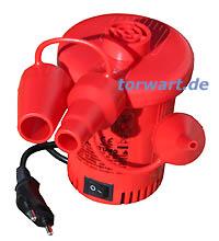 Elektrische Luftpumpe 230V