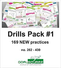 GoalSquare Der Goalsquare Drills Pack #1
