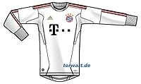 adidas FC Bayern Torwarttrikot