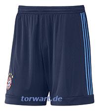 adidas FC Bayern Torwartshorts für Kinder