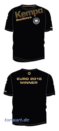 Kempa DHB Euro Winner Shirt